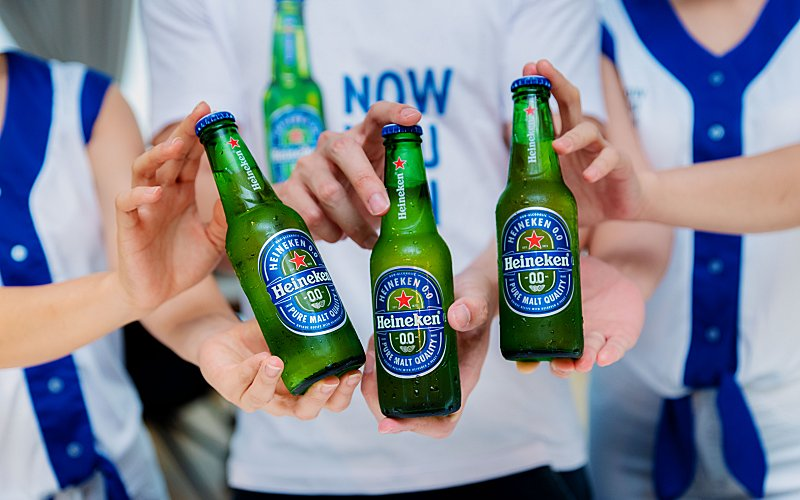 HEINEKEN® LAUNCHES HEINEKEN® 0.0: GREAT TASTE WITH ZERO ALCOHOL