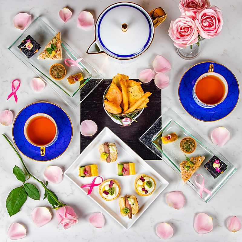 "Afternoon Tea Takes On A ""Pink"" Spin This October At Banyan Tree Kuala Lumpur"