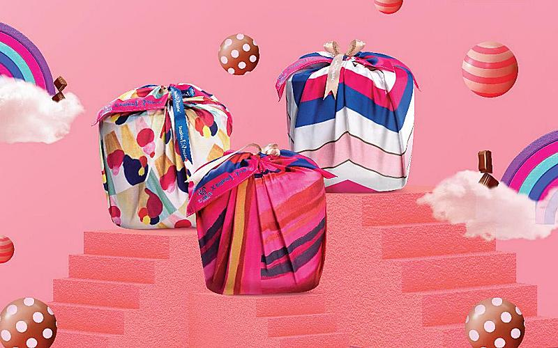 "BASKIN ROBBINS X TOM ABANG SAUFI ""BUNGKUS OF HAPPINESS"" COLLABORATION"