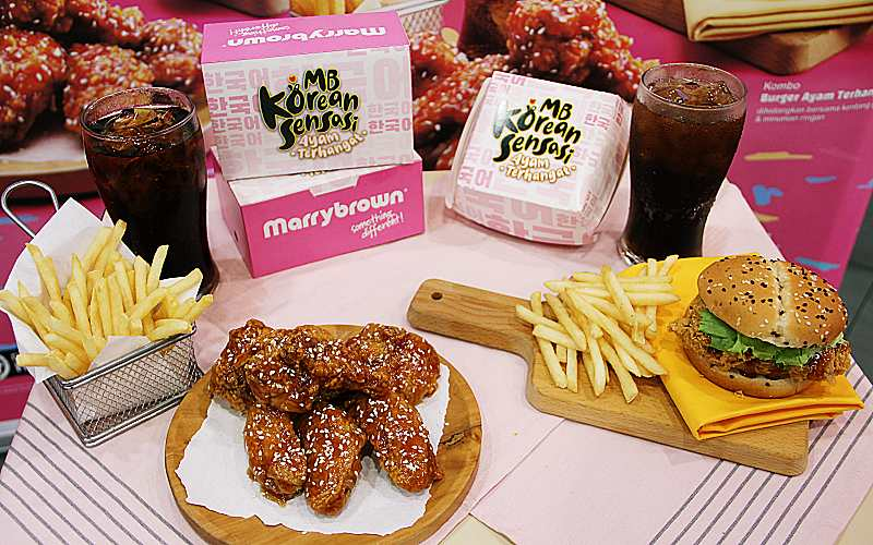 "MARRYBROWN NOW SERVES ""KOREAN SENSASI""!"