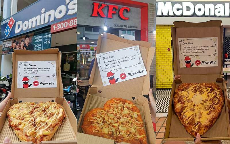 Rival Brands Get Cheesy Surprise By Pizza Hut!