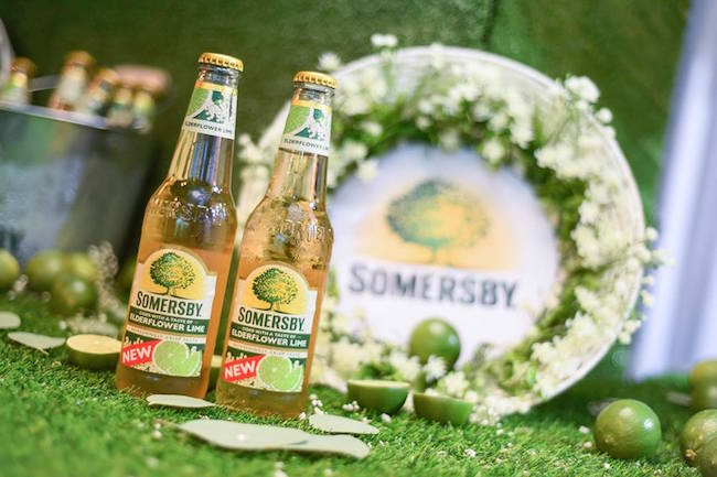 SOMERSBY 推出新口味:ELDERFLOWER LIME