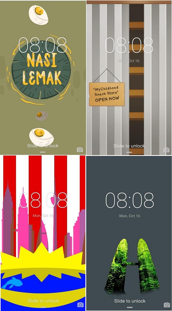 Huawei Themes Showcases Malaysian-Inspired Mobile Phone Themes!