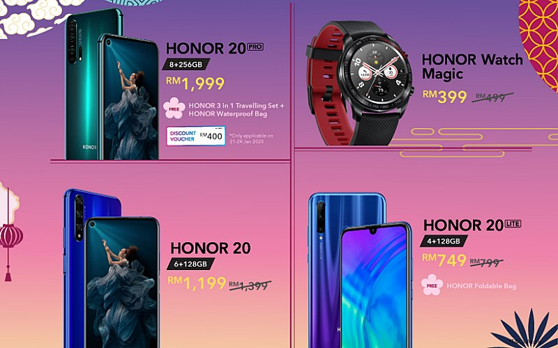 RING IN THE YEAR OF THE RAT WITH HONOR'S CHINESE NEW YEAR DEALS