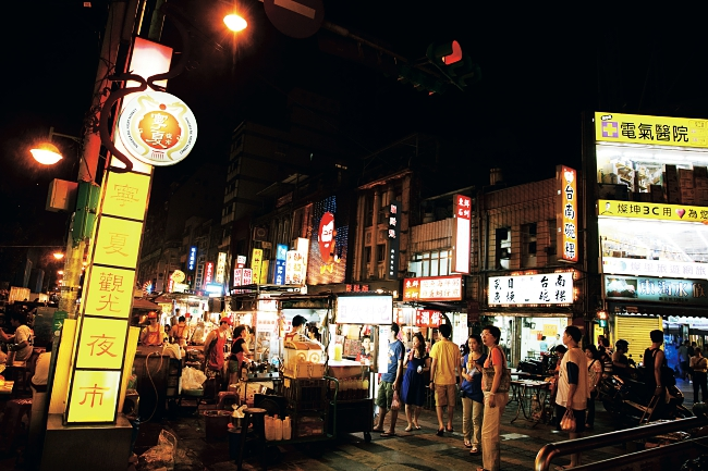 Ningxia Night Market, Taipei