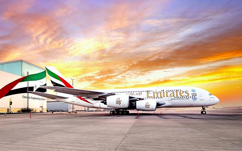 Emirates flights. Famous for hospitality (and a seriously luxurious business class offering), the Dubai-based airline Emirates is the world's fourth largest airline based on passenger numbers.